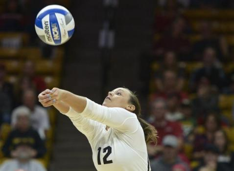 Former walk-on Rachel Whipple evolves into starring role with CU Buffs volleyball