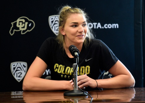 Fitter, stronger, Taylor Kornieck intends to lead CU Buffs soccer back to postseason