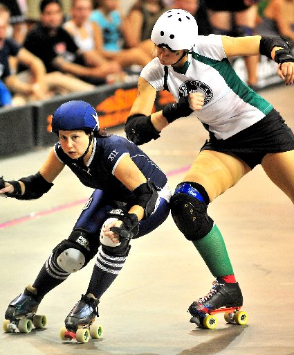 887376118fd The Denver Roller Dolls compete against Rat City last month. The teams will  participate in the 2009 Western Regional Roller Derby Tournament Friday  through ...
