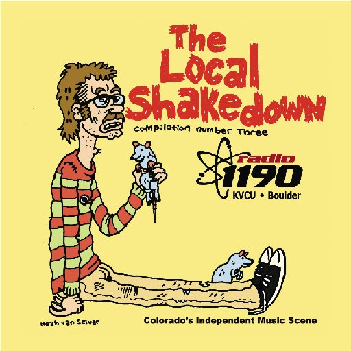 Radio 1190's 'Local Shakedown Vol  3': CU-Boulder station releases